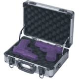 Two Pistol Range Case 31036 GREY by ADG Sports