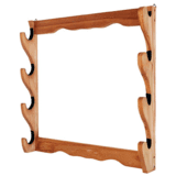 Allen 18550 Four Gun Wooden Wall Rack