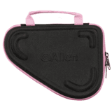 Allen Molded Compact Pistol Case 8.5 Inch Black With Pink Trim 81-85