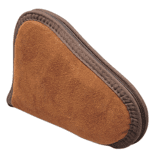 Allen 75-8 Suede Leather Pistol Case 8 inch Rust