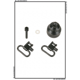 Mossberg 590 / 835 Shotgun Swivel Set 70SW29BK by BlackHawk