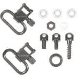 Pump and Semi-Auto Shotgun Swivel Set QD-115, Stud Type by BlackHawk