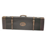 Browning High Grade Universal Canvas/Crazy Horse Leather Sage Tan Fitted Gun Shotgun Case