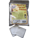 Triple Twill Cleaning Patches by Butch's Gun Care