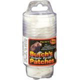 Triple Twill Cleaning Patches Handi-Pak in New Mini Containers by Butch's Gun Care
