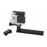 Caldwell Picatinny Rail Mount for Go-Pro Action Cameras