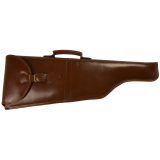 Cebeci Arms Leather Compact Shotgun Case Buckled