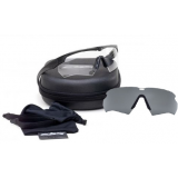ESS Crossbow Suppressor 2X Tactical Eyeshields w/ Black Frames