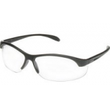 Howard Leight HL200 Youth Safety Glasses- Black Frame/Clear Lens/Anti-Fog