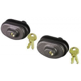 Master Lock 90TSPT Keyed Alike Trigger Gun Lock 2 Pack
