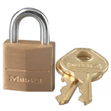 Master Lock 120-D Pin Tumbler Solid Brass Locks Keyed Differently
