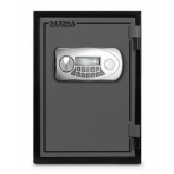 Mesa Safes MF50E UL Classified Fire Safe,0.6 cu ft,11.875x8.25x10.25in