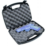 MTM Black  80740 Single Handgun Case Up To 6in. Barrel