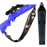 Adjustable Black Padded Super Sling AD20913 by Outdoor Connection