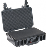 Pelican Storm Cases Model 1170 Pistol Case With Custom Foam Watertight Black 1170-005-110