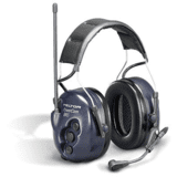 Headband BRS Series 2-Way Radio Headset by Peltor