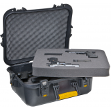 Plano Molding  - Black AW XL Pistol/Accessories Case w/ Deluxe Latches