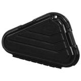 Plano Moulding  142100 Black Pistol Case 7.75in L x 2in W x 5.25in H