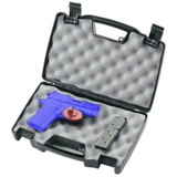 Plano Moulding  140300 Black Single Pistol Case