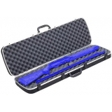 Plano Moulding  10-10303 DLX Takedown Black Shotgun Case w/Protective Interlocking Foam