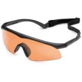 Revision Eyewear Sawfly Eyeshield Shooters Kit Basic w/ Vermillion lens