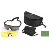 Revision Eyewear Sawfly Eyeshield High Impact Deluxe kit with Clear, Polarized Solar, Yellow Lenses