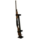 Rugged Gear Floor Mount Permanent Gun Rack 10083