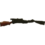 Police Series Sheriff Rifle/Shotgun Swat Black 52 Inch 953 by Sack-Ups