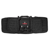 Safariland 4552-46-4 Dual Rifle Case, Black, 46 in