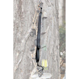 Slogan Outdoors Ultraflex Med Weight Bow Sling 12 In 1 W/para Cord Black
