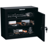 Stack-On Pistol/Ammo Steel Cabinet w/ 2 Removable Shelves