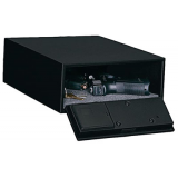 Stack-On QAS1304 ELECTRONIC LOW PROFILE QUICK ACCESS SAFE Gun Safe Black