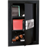 Stack-On Wall Safe w/ Electronic Lock