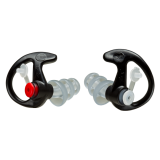 Black EP-4 Sonic Defender Plus Earpieces by SureFire