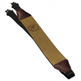 Muzzleloader Rifle Sling Brown Leather Faced And Quick Remove Swivels With Logo 7584 by Thompson Center