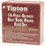 14-Piece Bronze Best Bore Brush Set 402173 by Tipton