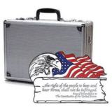 TZ Case 18x13x7 Second Amendment Double Duty Pistol Case