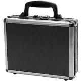 TZ Case TZDLX18DPI Ironite Alumitech Double Duty Pistol Case Diamond Plate 18x13x7, Black
