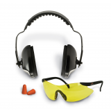 Walkers Sport Combo Kit - Shooting Glasses/Range Ear Muffs/Ear Plugs