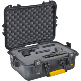 Plano Molding  108021 Large Black Weatherproof Pistol Case